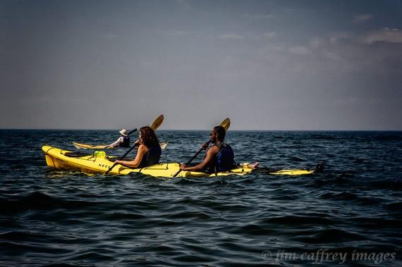 Lauren-&-Prasanna-Kayaking-Lake-Superior