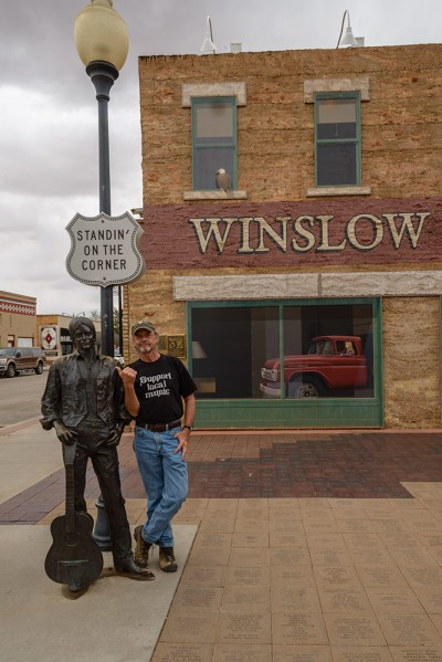 Standin'-On-A-Corner-In-Winslow,-Arizona